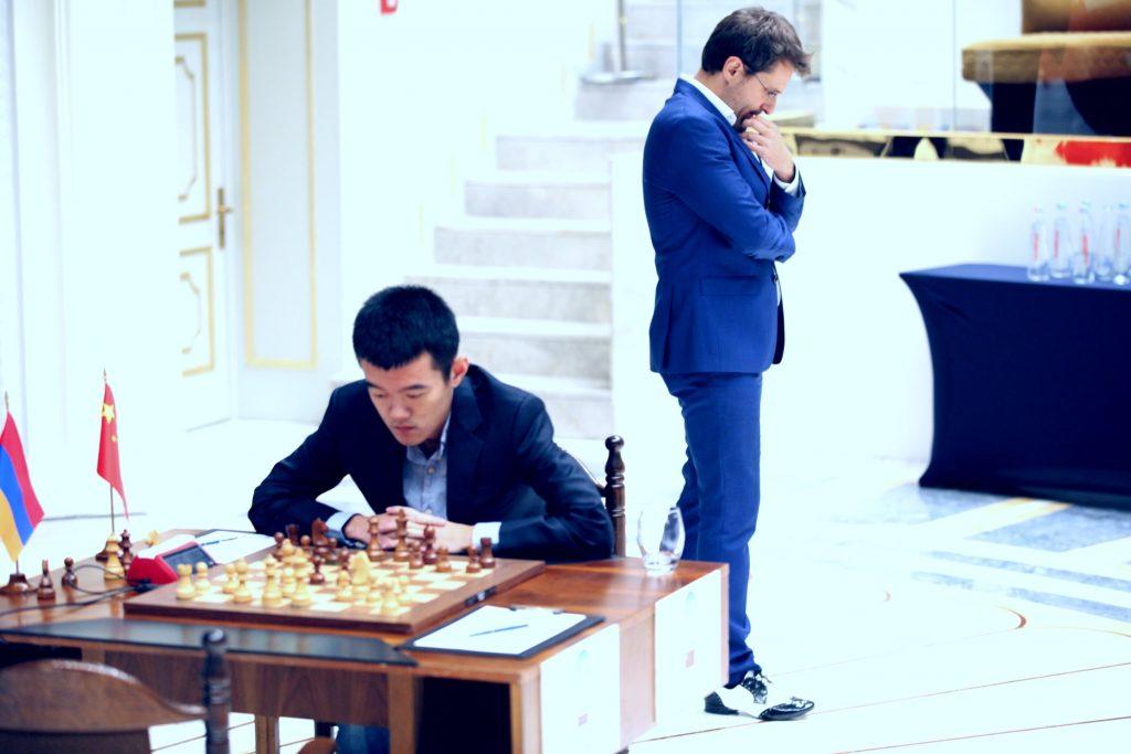 Coupe du Monde d'échecs FIDE 2017 finale partie 1 Aronian Ding