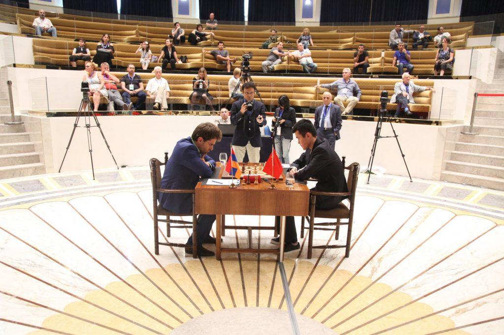 Coupe du Monde d'échecs FIDE 2017 finale partie 2 Ding Aronian