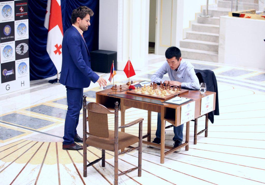 Coupe du Monde d'échecs FIDE 2017 finale partie 3 Aronian Ding