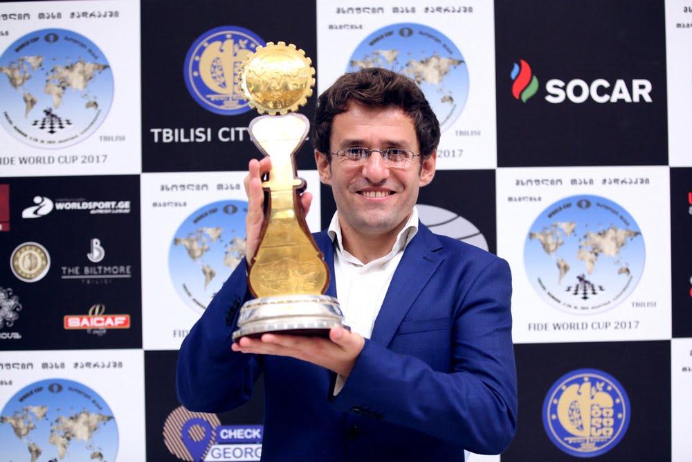 Coupe du Monde d'échecs FIDE 2017 Levon Aronian vainqueur