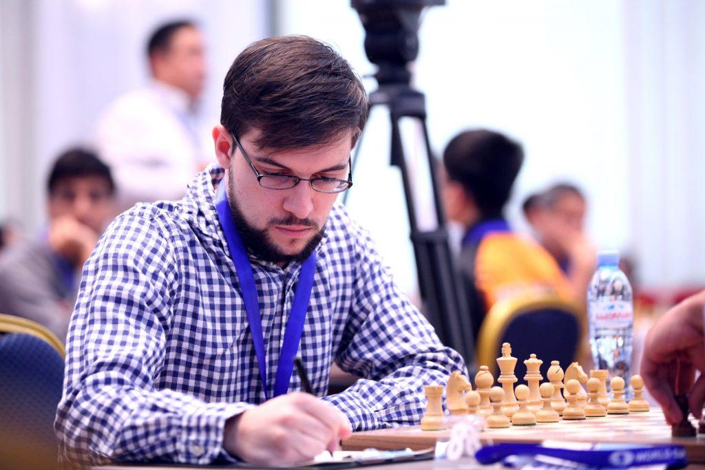 Coupe du monde d'échecs FIDE 2017 ronde 1 partie 2 Maxime Vachier-Lagrave
