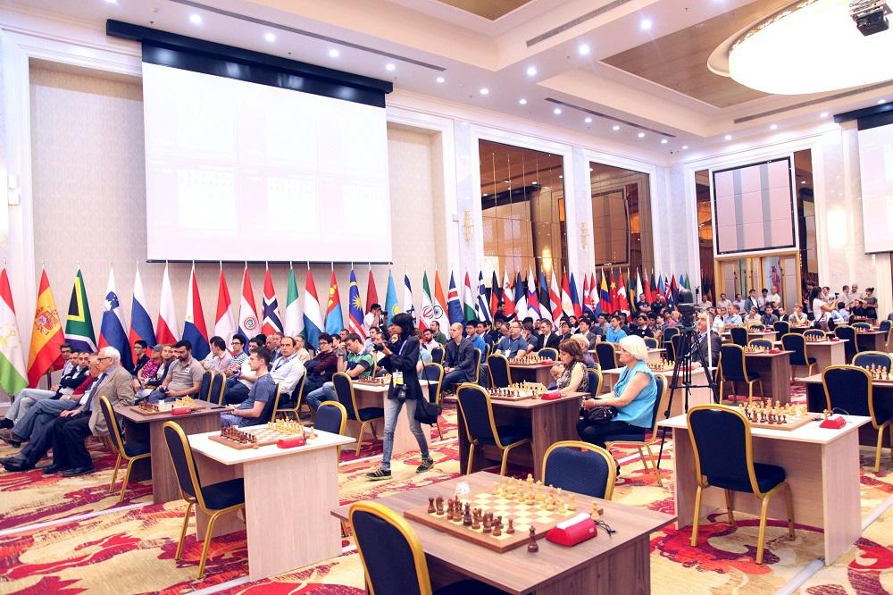 Coupe du Monde d'échecs FIDE 2017 Ronde 1