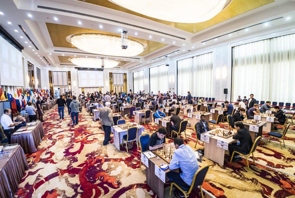 Coupe du monde d'échecs FIDE 2017 ronde 2