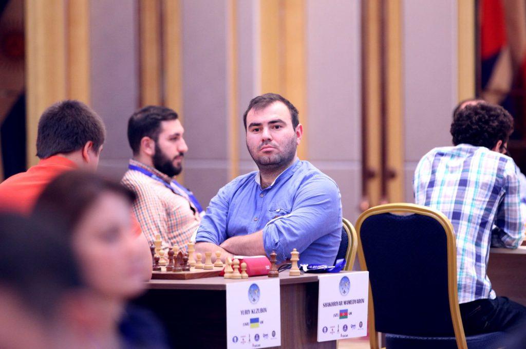 Coupe du Monde d'échecs FIDE 2017 ronde 2 départage Mamedyarov