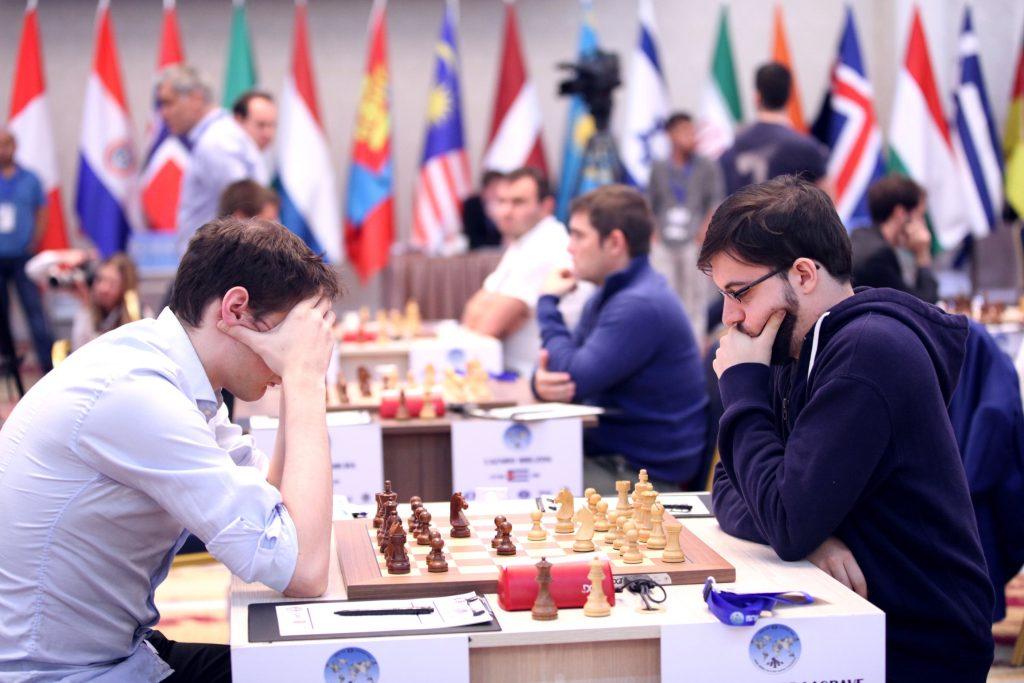 Coupe du Monde d'échecs FIDE 2017 ronde 2 partie 1 Maxime Vachier-Lagrave