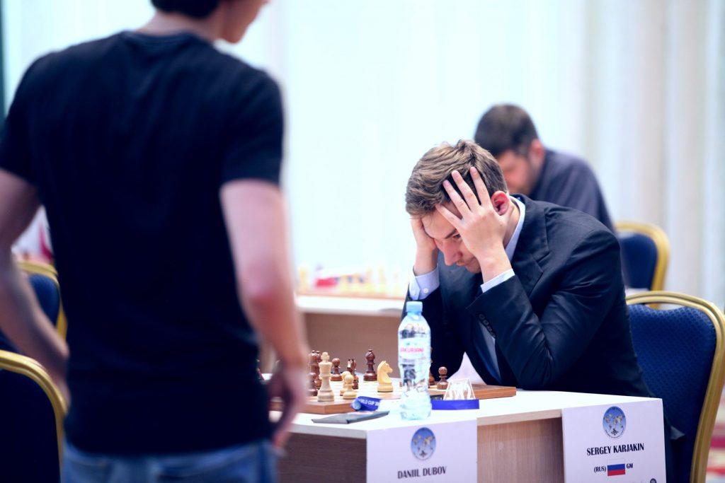 Coupe du Monde d'échecs FIDE 2017 ronde 2 partie 2 Sergey Karjakin