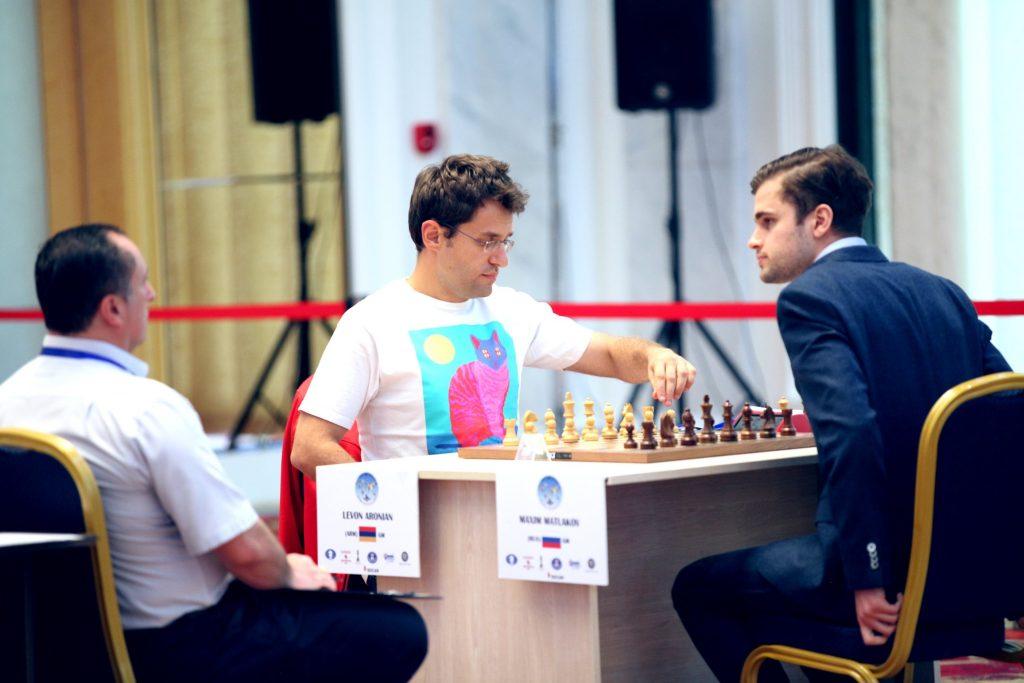 Coupe du Monde d'échecs FIDE 2017 ronde 3 départages Levon Aronian