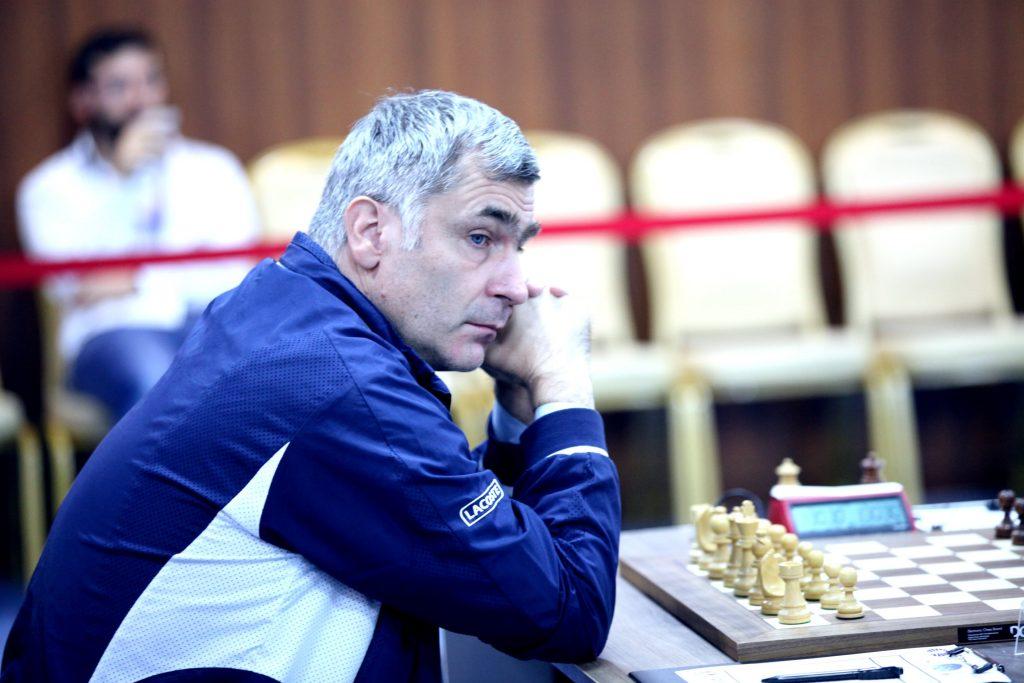 Coupe du Monde échecs FIDE 2017 ronde 4-1 Vassily Ivanchuk