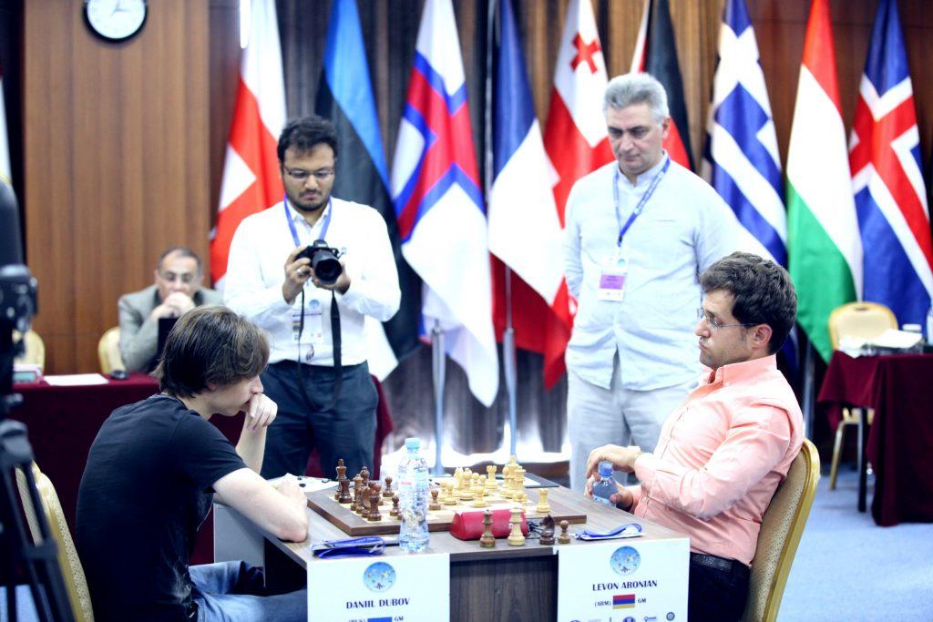Coupe du Monde d'échecs FIDE 2017 ronde 4-2 Dubov-Aronian