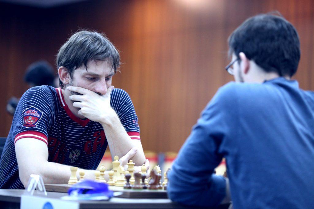 Coupe du monde d'échecs FIDE 2017 ronde 4 départages Grischuk Vachier-Lagrave