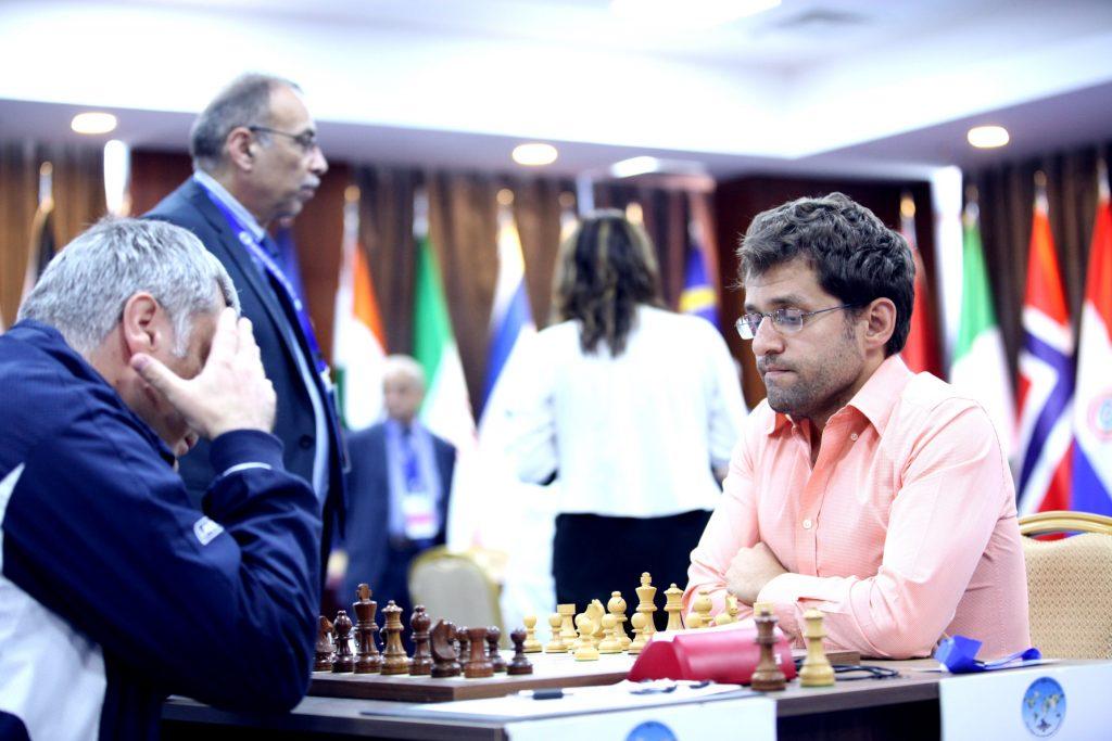 Coupe du Monde d'échecs FIDE 2017 ronde 5 1 Aronian-Ivanchuk