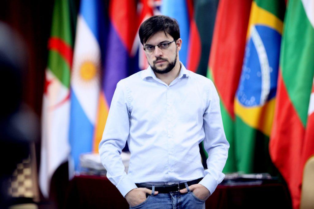 Coupe du Monde d'échecs FIDE 2017 ronde 5 Maxime Vachier Lagrave