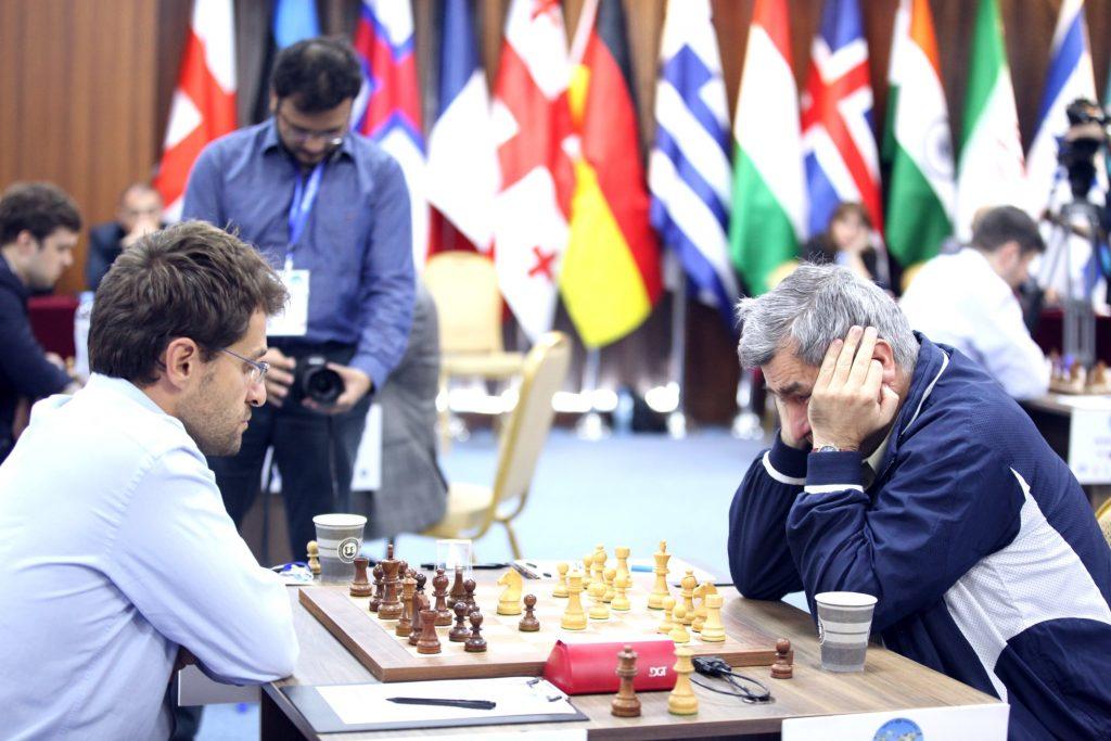 Coupe du Monde d'échecs FIDE 2017 ronde 5-2 Ivanchuk-Aronian