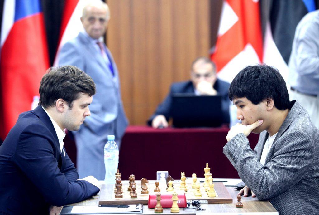 Coupe du Monde d'échecs FIDE 2017 ronde 5-2 So-Fedoseev