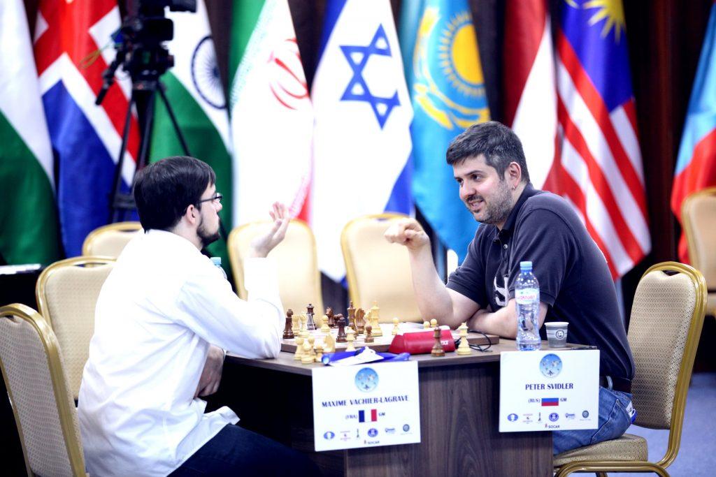 Coupe du Monde d'échecs FIDE 2017 ronde 5 Départages Vachier-Lagrave Svidler