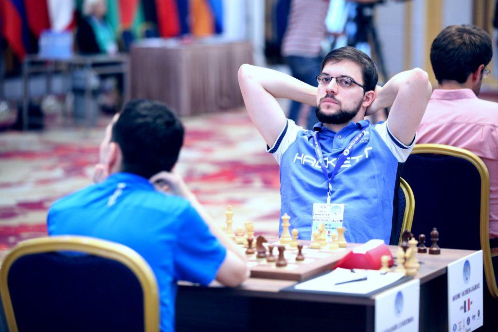 Coupe du Monde d'échecs FIDE 2017 ronde 3 partie 2 Maxime Vachier-Lagrave