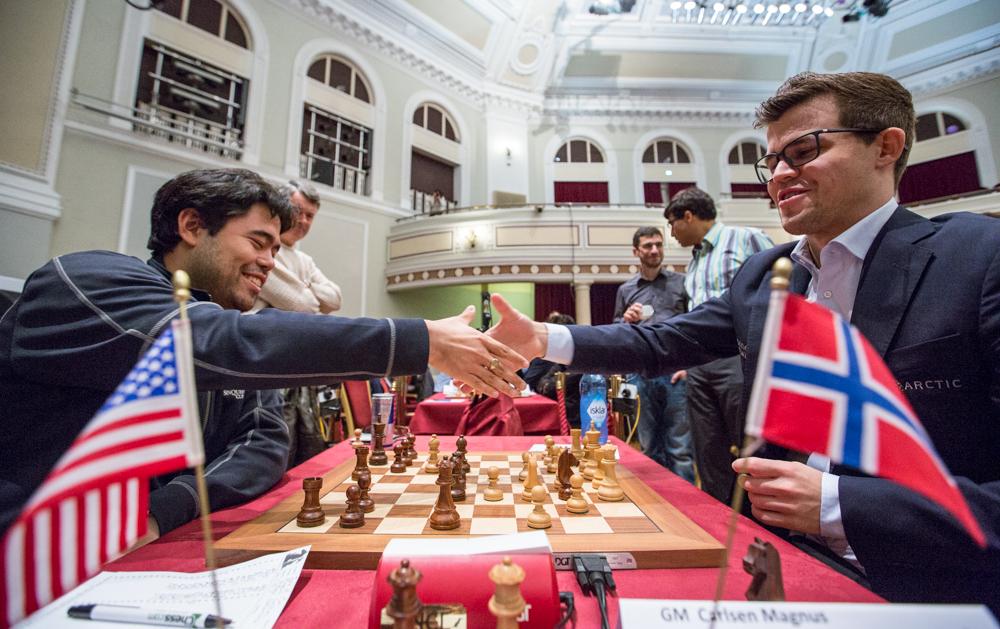 Isle of Man 2017 ronde 9 Nakamura Carlsen