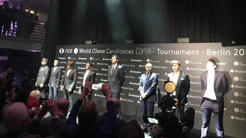 Tournoi des Candidats 2018 cérémonie d'ouverture