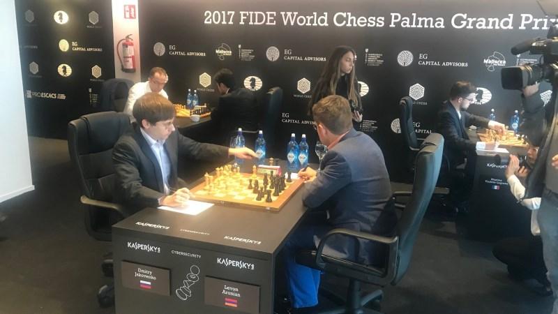 Grand Prix FIDE 2017 à Palma de Majorque Ronde 1