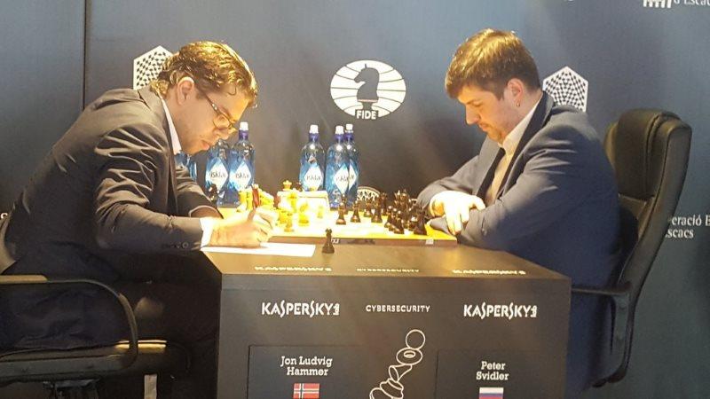 Grand Prix FIDE 2017 Palma de Majorque ronde 3 Peter Svidler