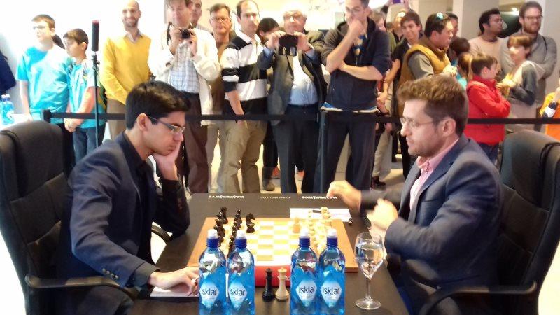 Grand Prix FIDE 2017 Palma de Majorque ronde 4 Aronian-Giri