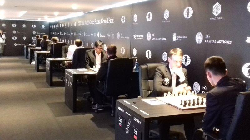 Grand Prix FIDE 2017 Palma de Majorque Ronde 4