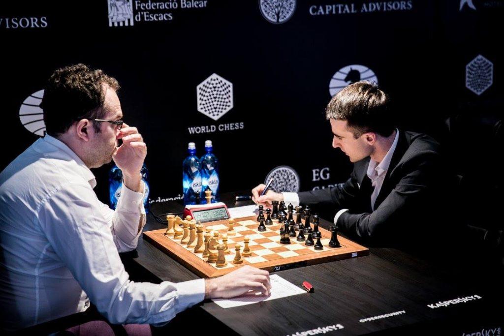 Grand Prix FIDE 2017 Palma de Majorque ronde 5 Eljanov-Inarkev