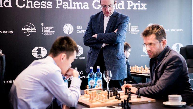 Grand Prix FIDE 2017 Palma de Majorque ronde 5