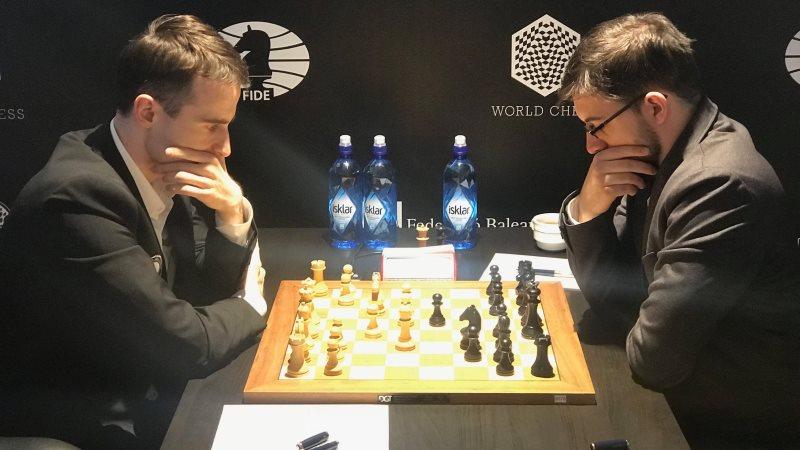 Grand Prix FIDE 2017 Palma de Majorque ronde 8 Inarkiev Vachier-Lagrave