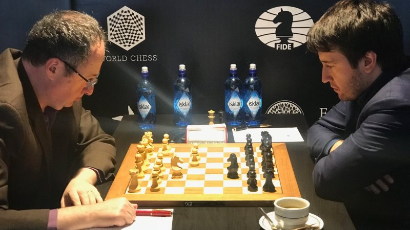 Grand Prix FIDE 2017 Palma de Majorque ronde 8
