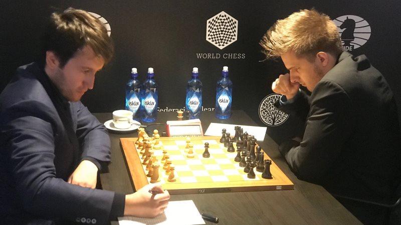 Grand Prix FIDE 2017 Palma de Majorque ronde 9 Radjabov-Rapport