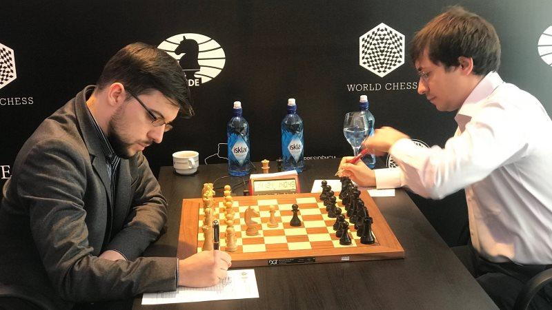Grand Prix FIDE 2017 Palma de Majorque ronde 9 Vachier-Lagrave Jakovenko