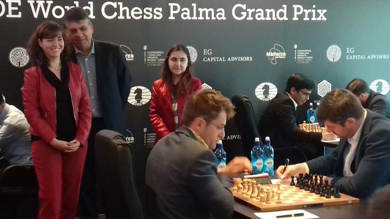 Grand Prix FIDE 2017 Palma de Majorque ronde 6