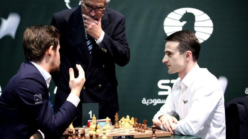 Championnat Monde échecs Blitz 2017 Carlsen Inarkiev