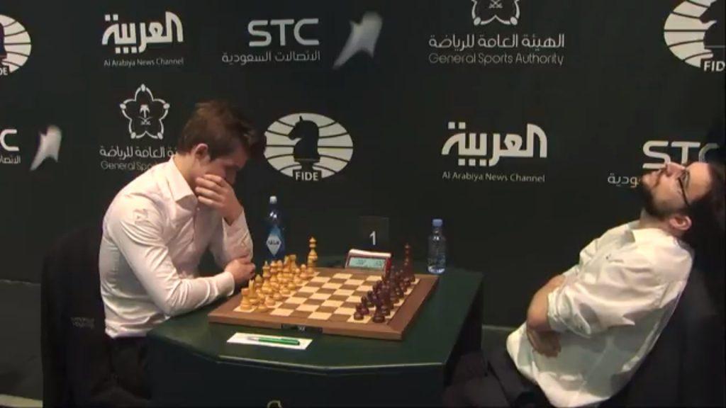 Championnat monde échecs blitz 2017 Carlsen Vachier-Lagrave