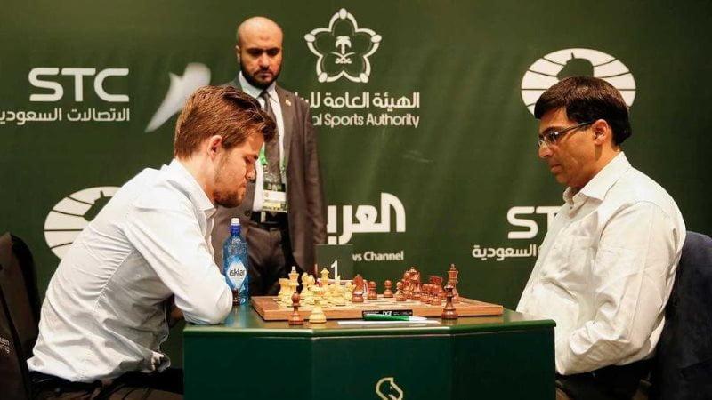 Championnat du Monde échecs rapide 2017 Carlsen-Anand