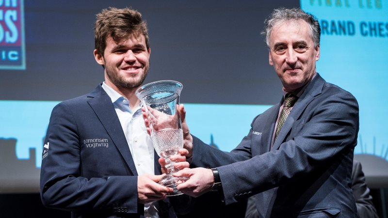 Grand Chess Tour 2017 Magnus Carlsen