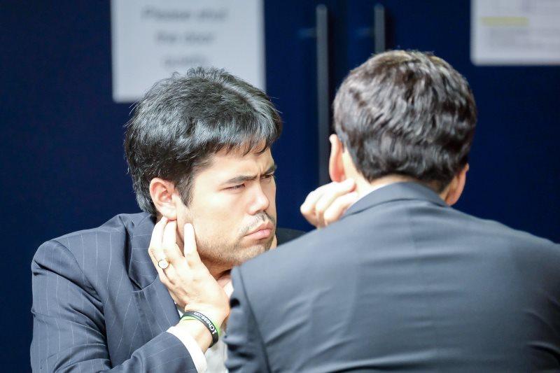 London Chess Classic 2017 ronde 1 Hikaru Nakamura