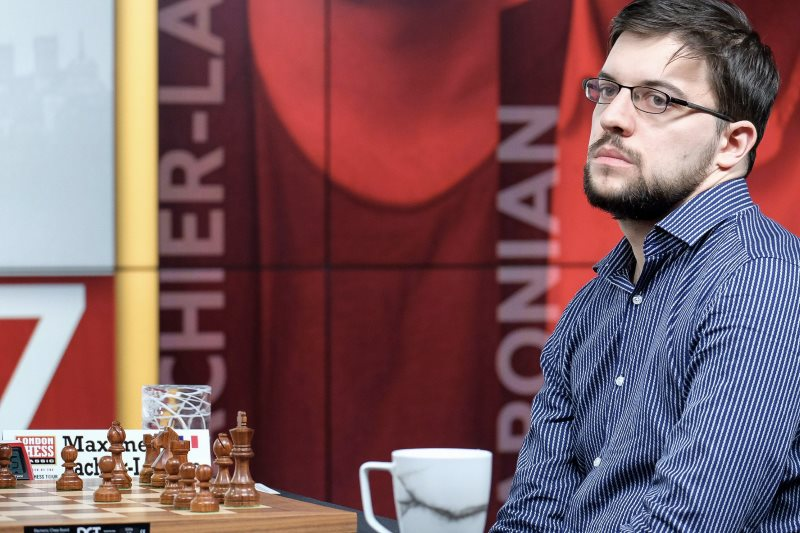 London Chess Classic 2017 Ronde 1 Maxime Vachier-Lagrave