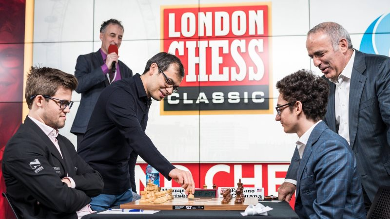London Chess Classic 2017 Ronde 1
