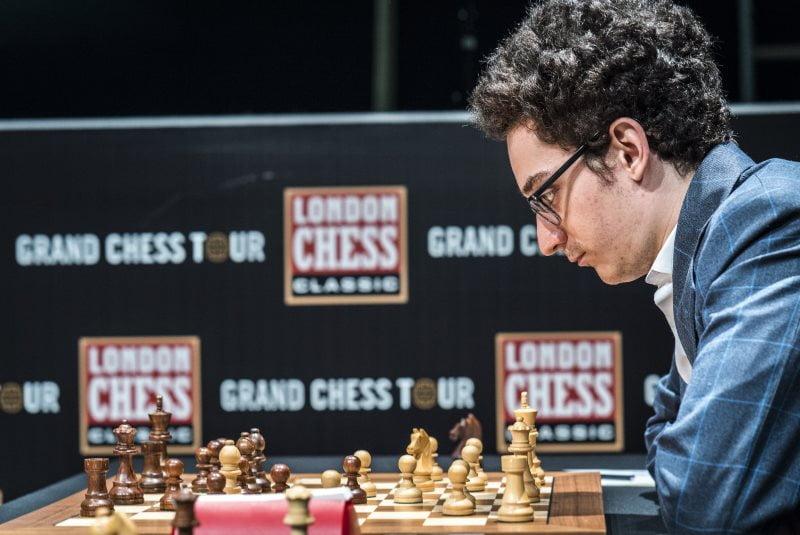 London Chess Classic 2017 ronde 2 Fabiano Caruana