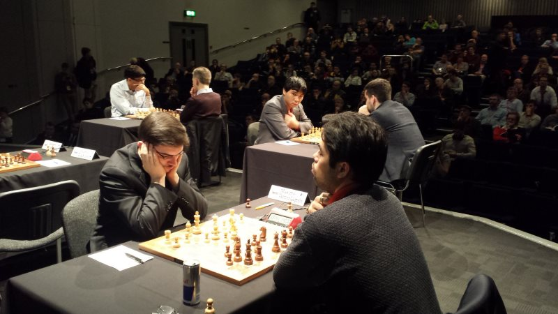 London Chess Classic 2017 ronde 2