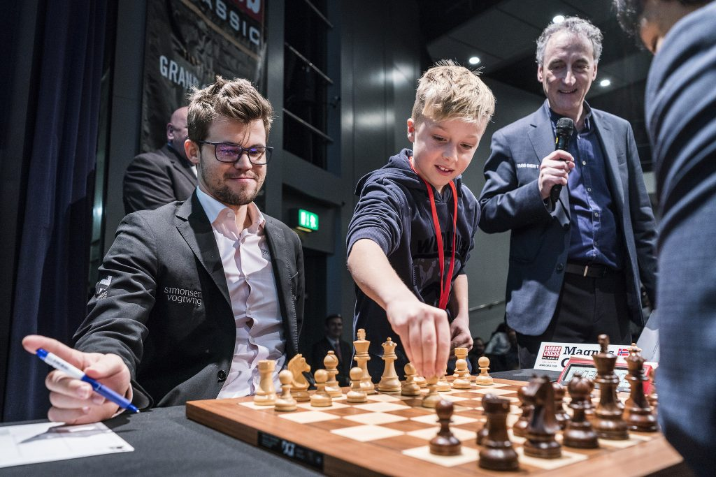 London Chess Classic 2017 ronde 5 Magnus Carlsen