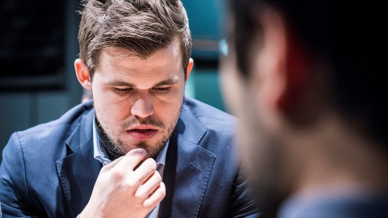 London Chess Classic 2017 ronde 6 Magnus Carlsen