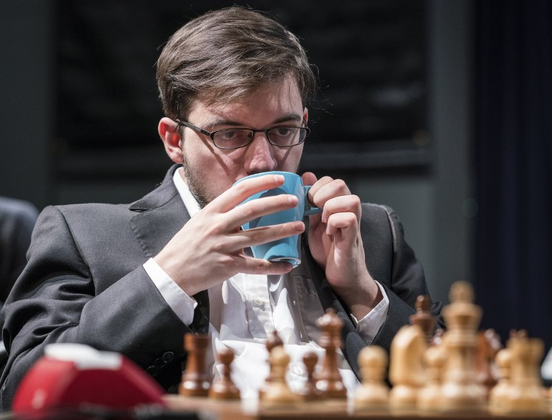 London Chess Classic 2017 ronde 7 Maxime Vachier-Lagrave