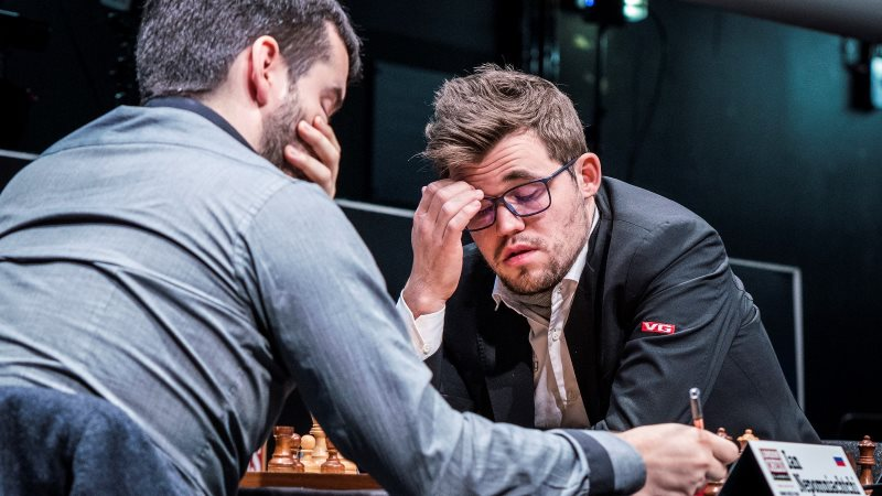 London Chess Classic 2017 ronde 8 Magnus Carlsen