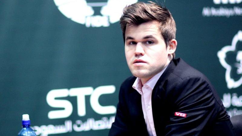 Magnus Carlsen Champion du Monde d'échecs Blitz 2017