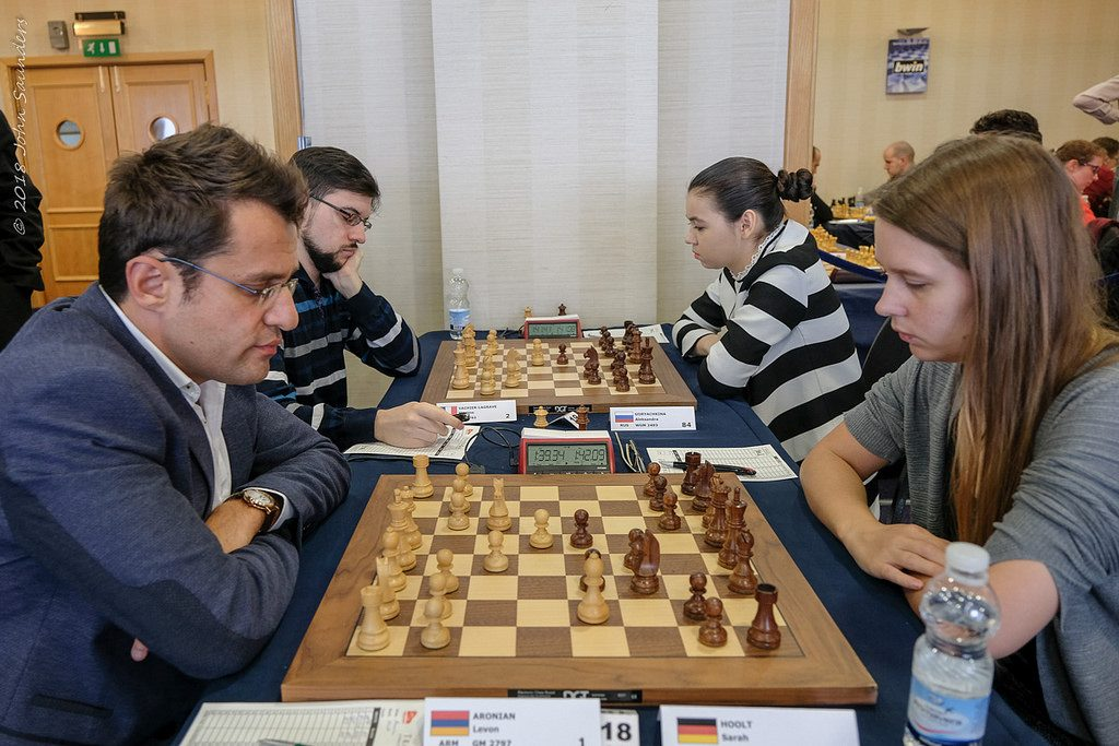 Tradewise Gibraltar Chess Masters 2018 Aronian et Vachier-Lagrave