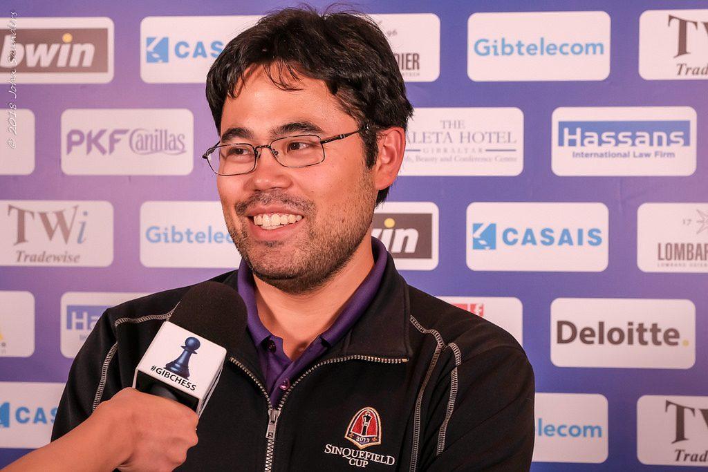 Tradewise Gibraltar Chess Masters Ronde 5 Hikaru Nakamura