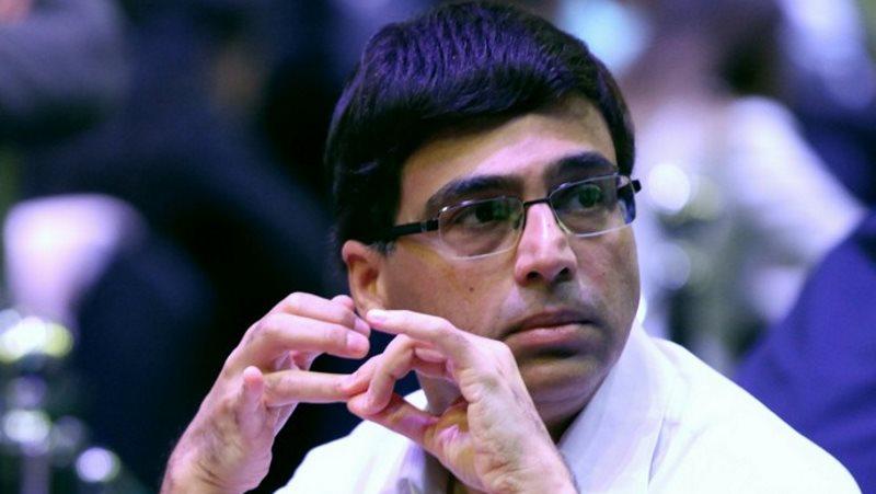 Viswanathan Anand Champion du Monde échecs rapide 2017